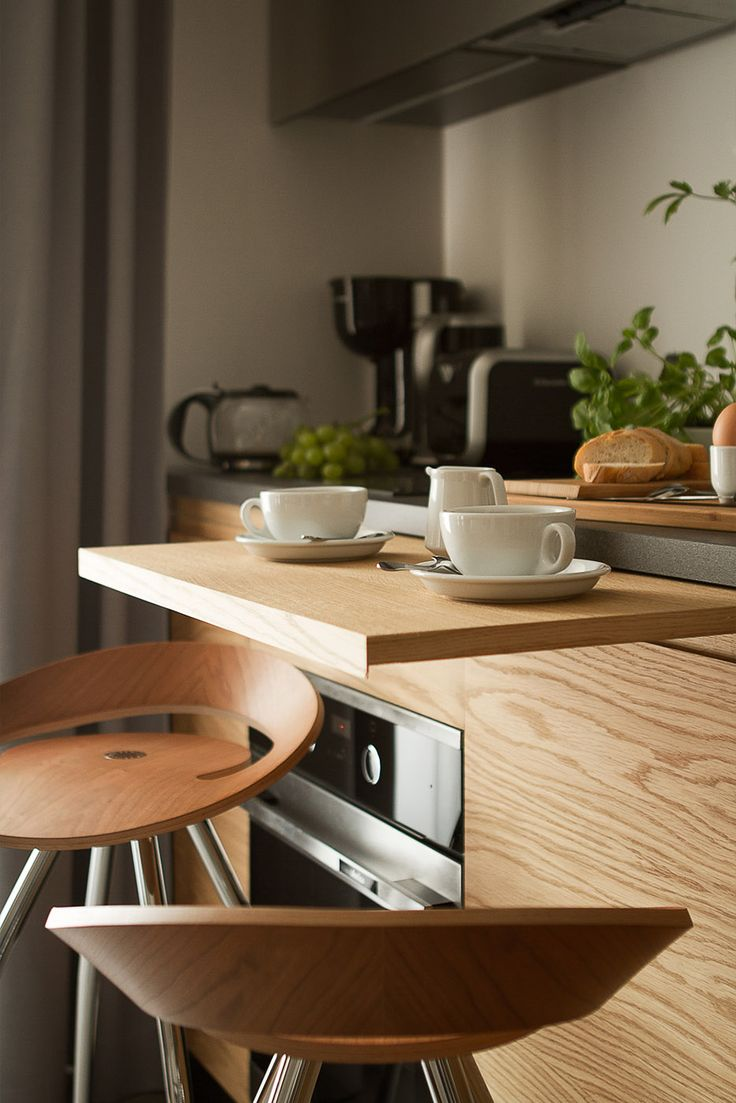 Gallery| Stradonia - elegant apartments in Krakow city | Stradonia  #homemade #breakfast #goodmorning #coffee #cup #cups #furnished #kitchen #chairs