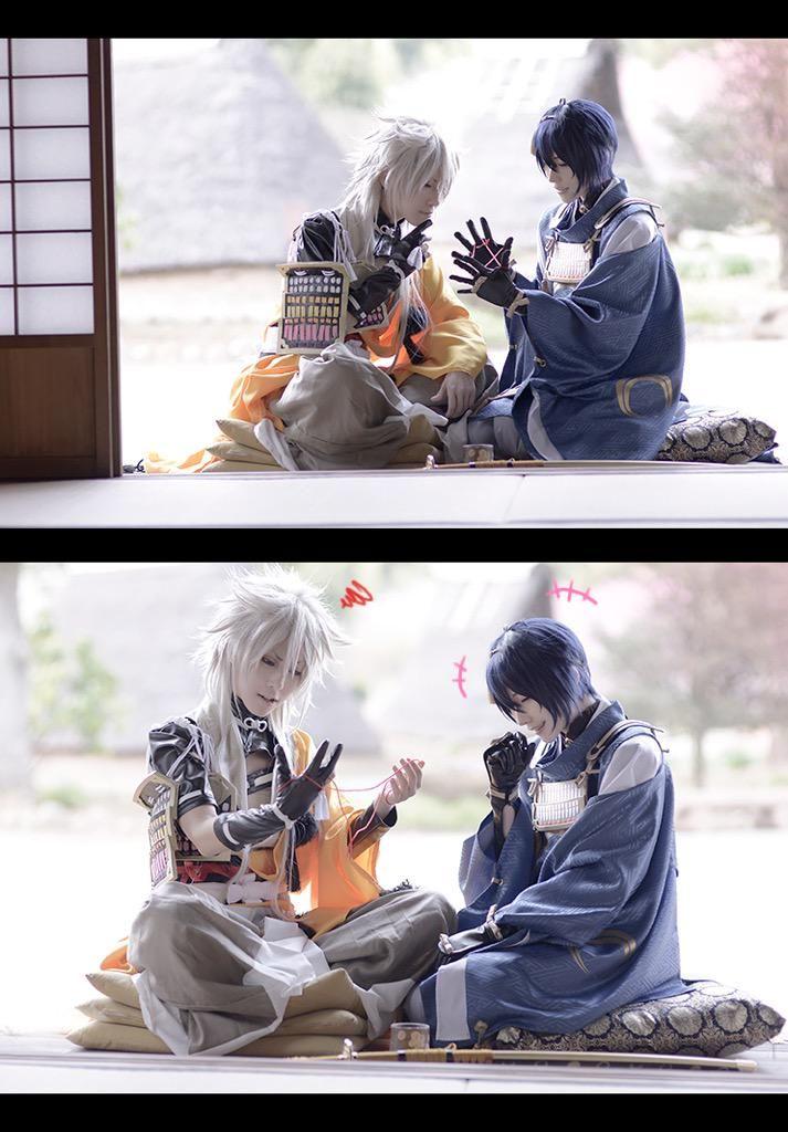 Touken Ranbu | TouRanbu | Kogitsunemaru | Mikazuki Munechika | Jiji <3 | cosplay www