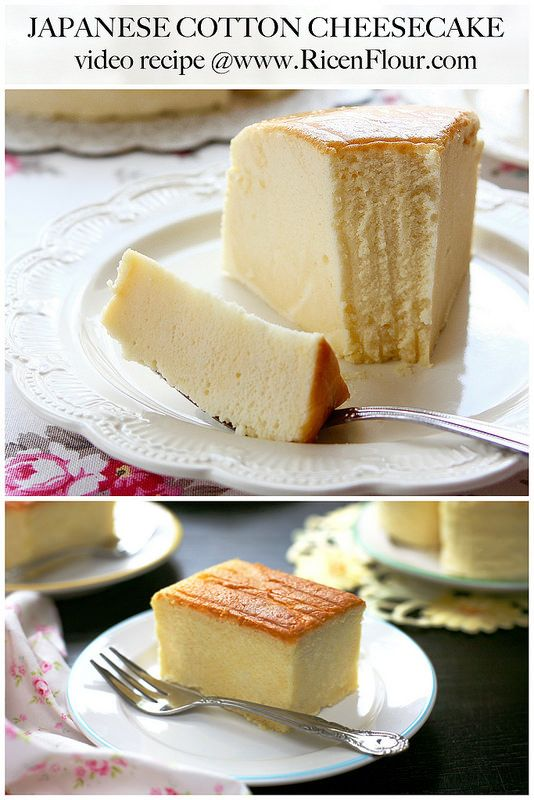 [VIDEO] Authentic Japanese Cotton Cheesecake recipe/ Cheese Soufflé recipe