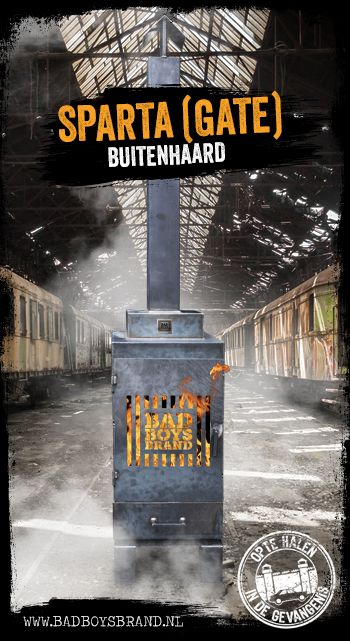 Sparta (Gate) - Buitenhaard / BBQ - 100% made in jail