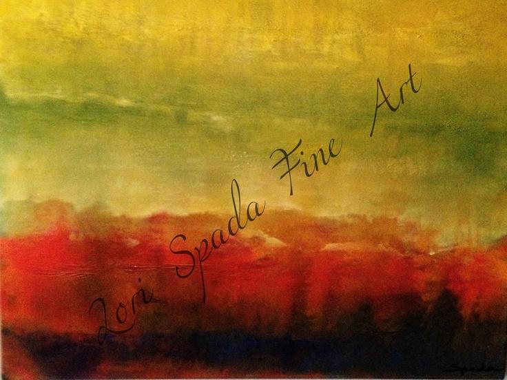 Trifecta  - 24 x 18 - Acrylic & Mixed Media - $1,275 framed