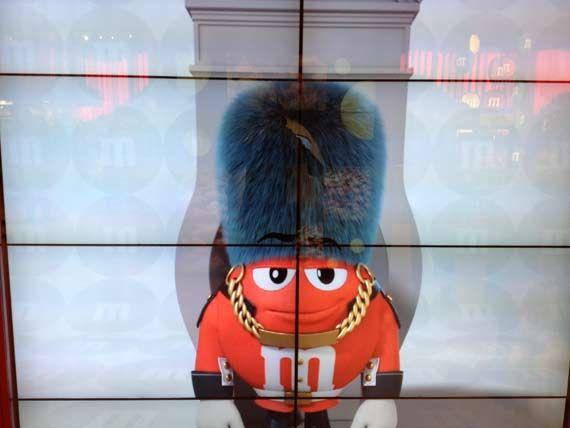 M&M's World at london…