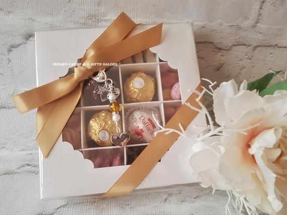 Ferrero Rocher N Sweets Gift Box With A Handmade Mum Clip On Charm