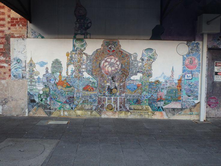 Fremantle, Perth. street art