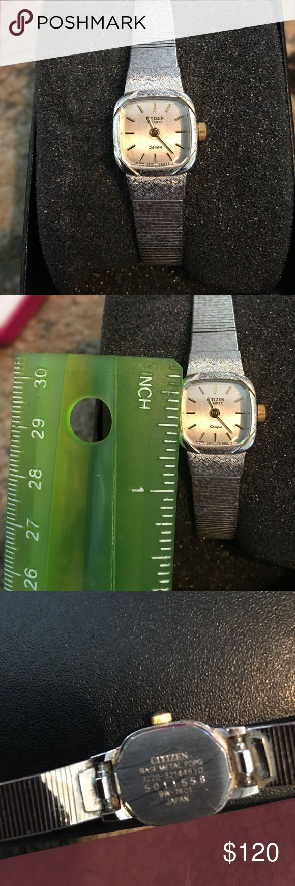 """Citizen ladies watch vintage Great shape! 7"""" It says """"Seven"""" on it in case that means anything. Excellent used condition. Perfect for the minimalist. Citizen Accessories Watches"""