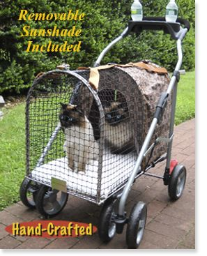 Kittywalk - Outdoor Cat Enclosures, Pet Strollers, Dog Beds