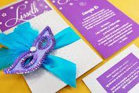 Modelo de Invitación Carnaval Party #sweet15 #quinceanera #carnaval #ideas #wedding