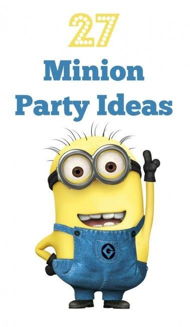 27 #Minion #Party Ideas. BabyCentre Blog