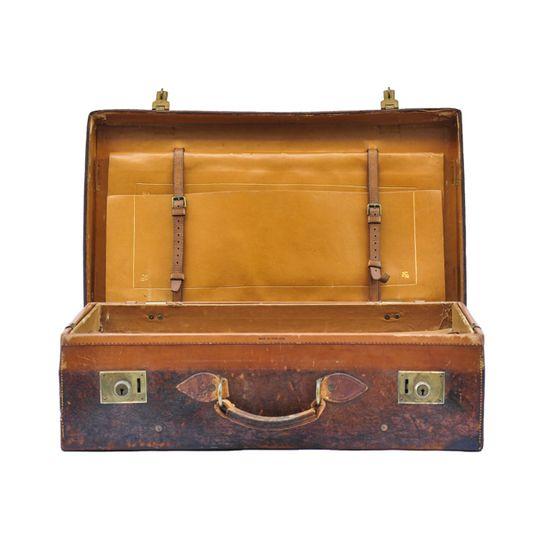 192 best Vintage leather suitcase images on Pinterest | Vintage ...
