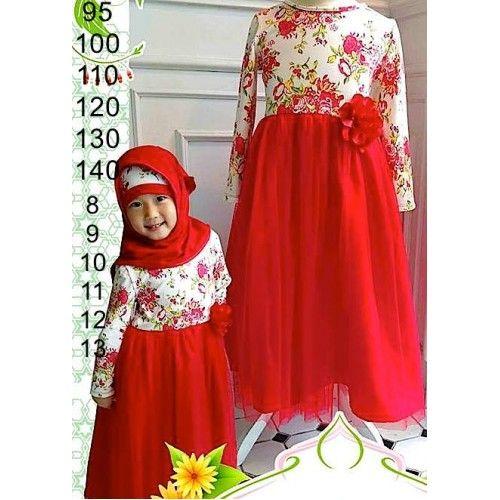 big gamis flower red sc-15542