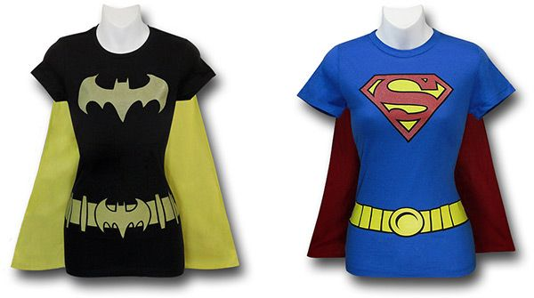 The Batgirl and Supergirl ones are better, since they don't have muscles like the Wonder Woman one.  I kind of want to get one or two or all of them for my niece.