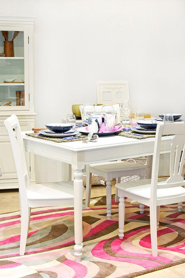 Atrévete con un lindo comedor vintage y dale un toque de estilo a tu hogar