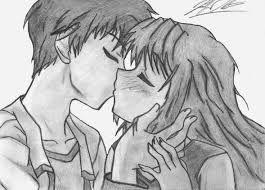 Resultado de imagen para dibujos animados de amor a lapiz