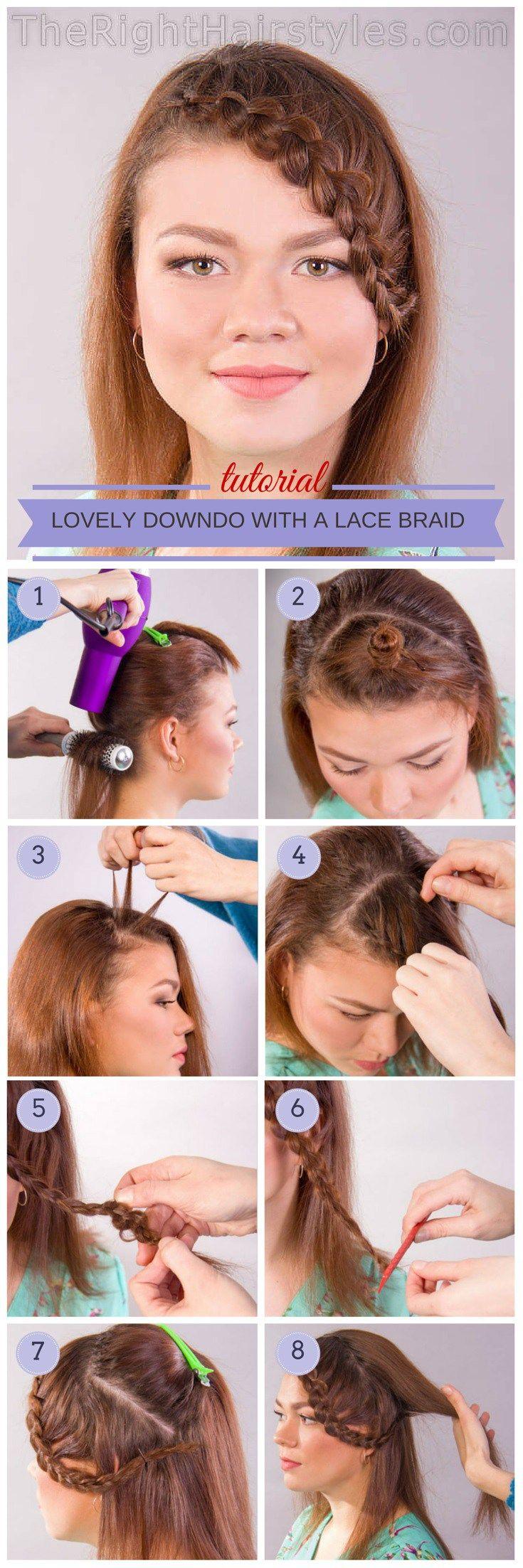 braided bangs tutorial - photo #8