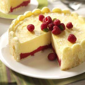 Eggnog Ladyfinger Dessert Recipe from Taste of Home -- shared by Carole Resnick of Cleveland, Ohio