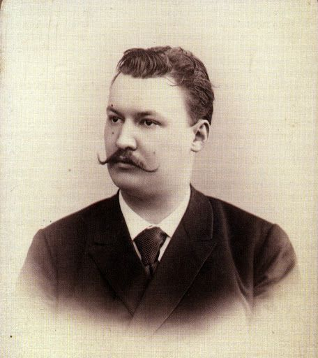 Alexander Konstantinovich Glazunov (1865–1936)  Russian composer of the late Russian Romantic period, music teacher & conductor. He served as director of the Saint Petersburg Conservatory between 1905 & 1928 & was also instrumental in the reorganization of the institute into the Petrograd Conservatory, then the Leningrad Conservatory, following the Bolshevik Revolution. Glazunov was significant in that he successfully reconciled nationalism & cosmopolitanism in Russian music.
