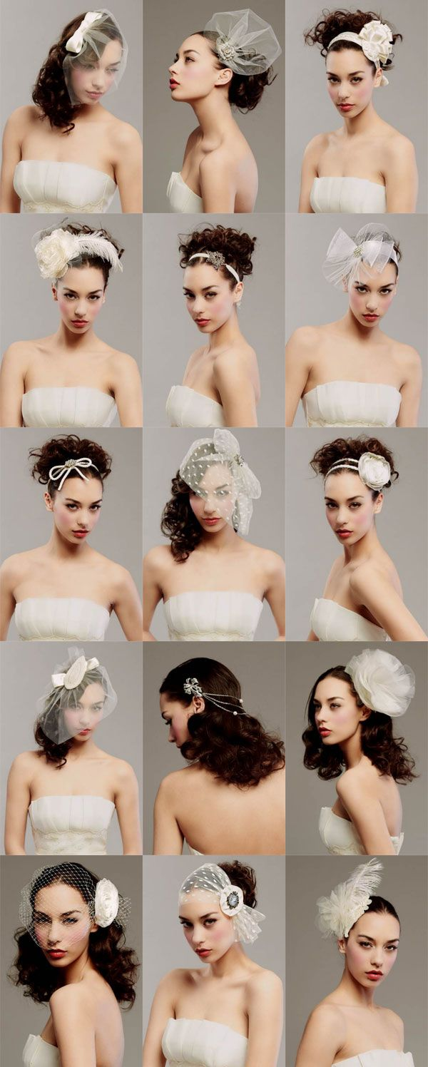 posh veils: for me or for the maids or the flower girls