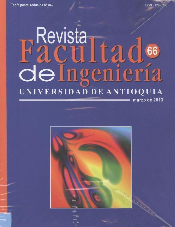 INGENIERÍA (Revista Facultad de Ingeniería : n° 66, marzo / 2013)