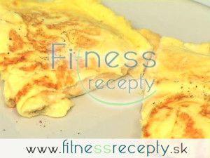 Syrová omeleta