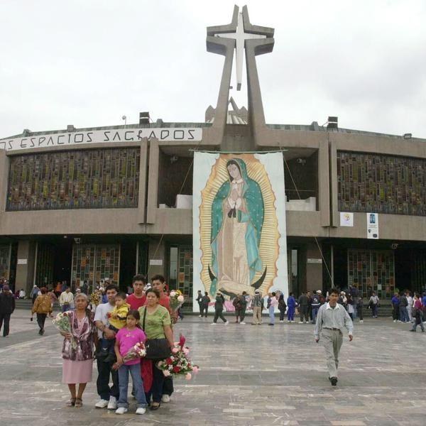 Fiesta de la Virgen de Guadalupe Casi al terminar el a
