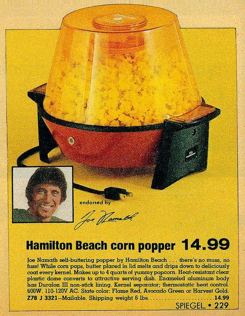 Hampton Beach popcorn popper