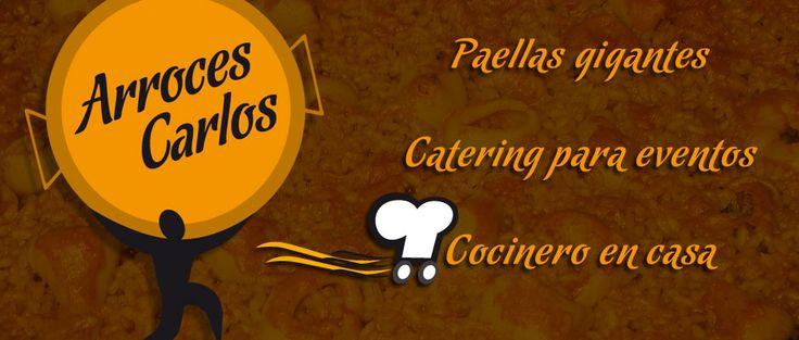 Paellas gigantes. Catering para eventos. Cocinero en casa. https://www.facebook.com/pages/Arroces-Carlos/379485835423945