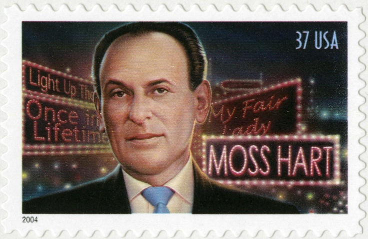 "Moss Hart won Pulitizer Prize with G.S. Kaufman for their play ""You Can't Take It With You,"" and directed the original production of ""My Fair Lady."""