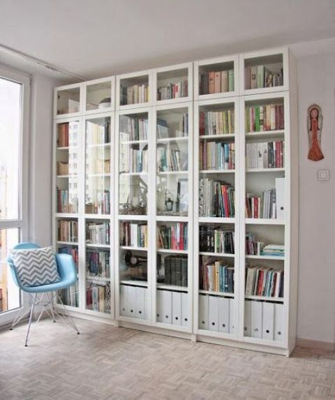 275 best images about home billy bookcase versatility on for Ikea blue billy bookcase
