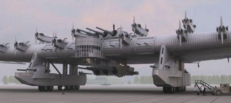 Najdziwniejsze samoloty, które faktycznie wzbiły się w powietrze - Technowinki