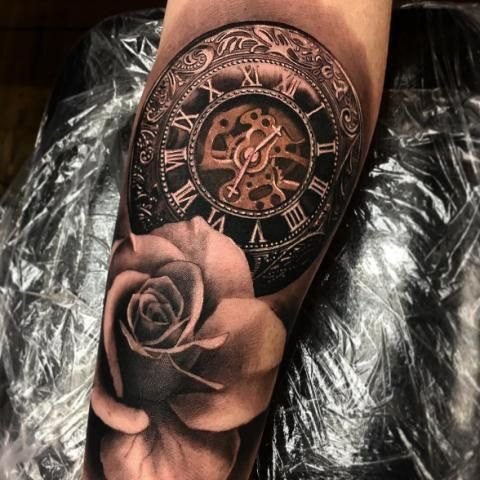 Clock tattoos