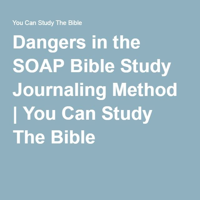 The 25+ best Soap bible study ideas on Pinterest Devotional - subjective objective assessment planning note