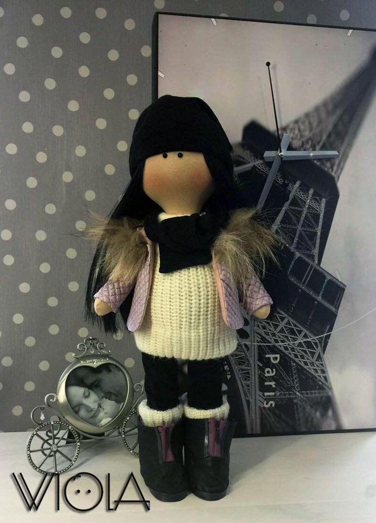 """Текстильная кукла """"В ожидании малыша"""""""