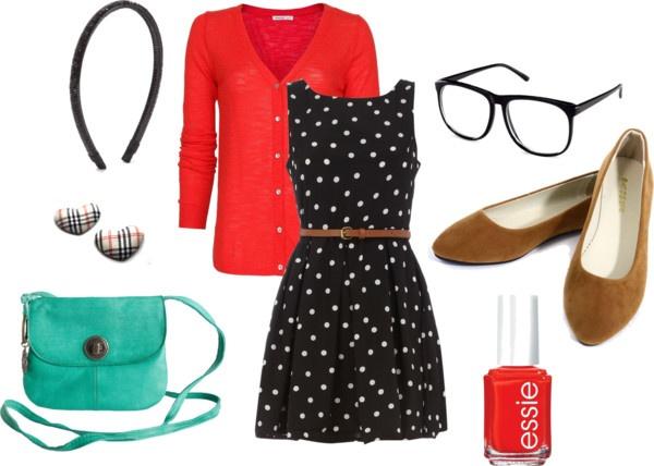 Dress like Jess from New Girl!