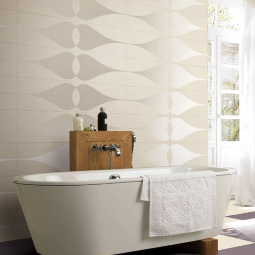White Tear Drop Patterned 1200x600mm thin porcelain wall and floor tiles  installed in a stylish bathroom. 67 best Paris Tile Collection images on Pinterest   Porcelain