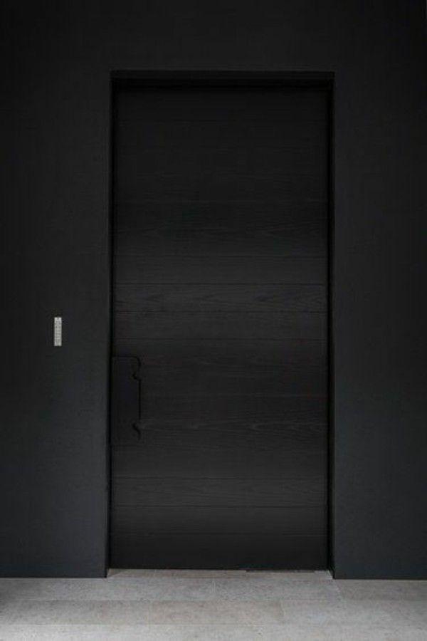 Schwarze Türen moderne fassadengestaltung: 50 + inspirierende haustüren und