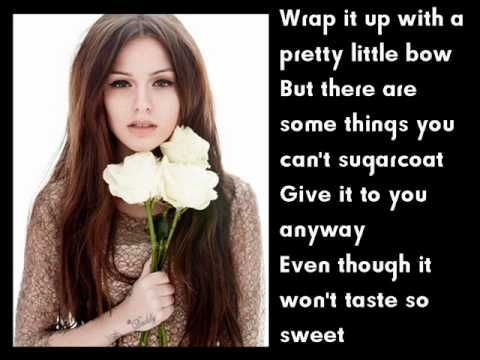 Cher Lloyd Love Me For Me Lyrics ~ If you're feeling low listen to this song :)