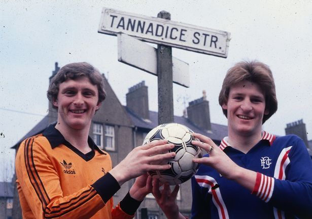 Dundee United and Dundee.