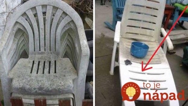 Je váš záhradný nábytok po zime v hroznom stave? Trik, vďaka ktorému bude opäť ako nový za 2 minúty!