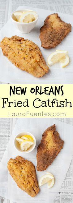 ... what sets fried catfish apart, and this New Orleans Fried Catfish