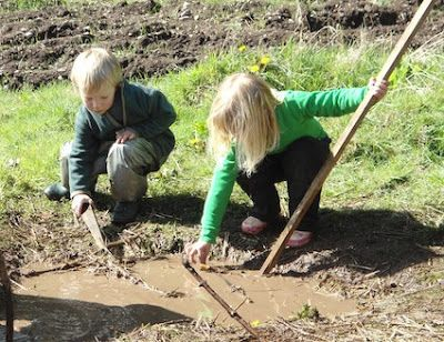 I'm a teacher, get me OUTSIDE here!: 10 Ideas for Mud Play
