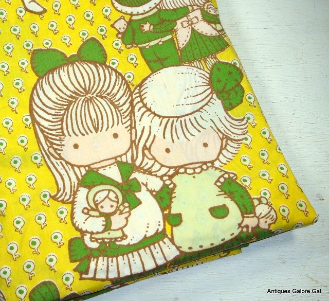 Vintage Jane Walsh Anglund Pillowcases