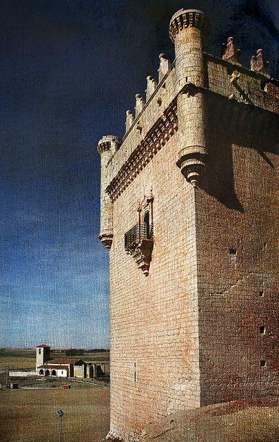 CASTLES OF SPAIN (2) - Castillo de Belmonte de Campos, Palencia, Spain