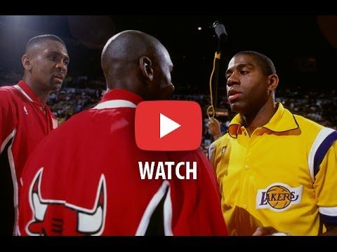 NBA Finals 1991. Chicago Bulls @ LA Lakers. Game 3. Jordan 29+9+9, Magic 22+10+6. Full game. - YouTube