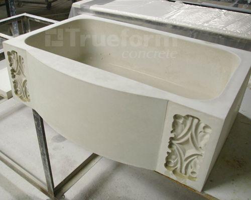 Kitchen   Concrete Farm Sink. 17 Best images about Concrete sinks on Pinterest   Grey cabinets