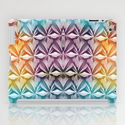 PYRAMID PATTERN iPad Case by hardkitty - $60.00