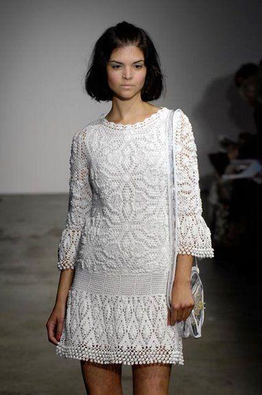 Exclusive  crochet wedding dress custom made, hand made, crochet  MADE TO ORDER. $700.00, via Etsy.
