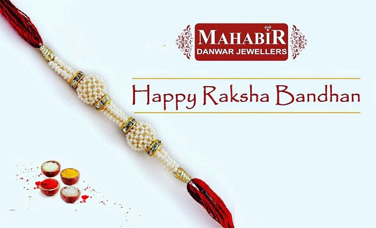 HAPPY RAKSHA BANDHAN TO ALL BROTHERS AND SISITERS AND FRIENDS AND FAMILY 🙏