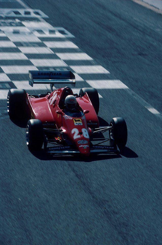 René Arnoux ~ Scuderia Ferrari 1983 French Grand Prix At Paul Ricard