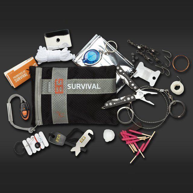 Bear Grylls Ultimate Survival Kit by Gerber ////////////////////////////////// gadgets, cool tech, survival gear, zombie, camping, adventure gear, hiking gear, camping gear
