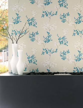 Fancy Garden Wallpaper - New collection from Casadeco http://decdesignecasa.blogspot.it/